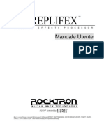 Manuale Roktron Replifex ITA