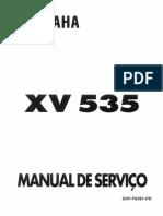 Yamaha Virago XV535 Manual-Servico