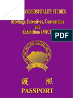 Meeting, Incentive, Convention and Exhibition (MICE)