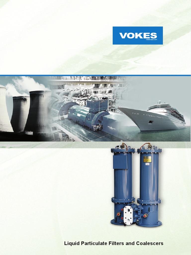 Vokes Brochure 1 Filtration Lubricant Duplex Fuel Filter Mann Hummel