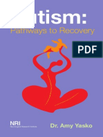 Autism Pathways to Recovery Book by Dr Amy