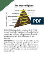 Niveles lógicos de pensamiento o Neurológicos PDF.pdf