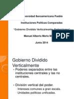 Gobiernos divididos verticalmente