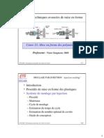 SYS849-12 -Mise en Forme Par Moulage-cas Des Plastiques