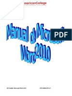 Manual de Microsotf Word2010