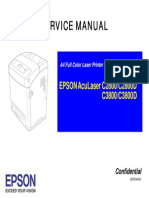 EPSON AcuLaser C2800_3800 service manual