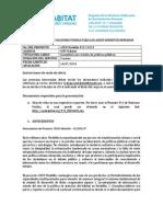 TOR Revisión Institucional - OUTPUT 1