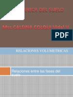 Relaciones volumetricas