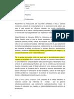 proyecto clima institucional