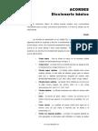 ACORDES Diccionario básico