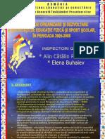 Strategia 2005-2008 Efs