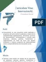 ppt curriculum vitae innovacional