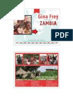 Zambia Prayer Card