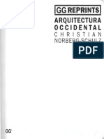 Arquitectura Occidental Norberg Schulz - Egipto y Grecia