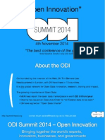ODI Summit 2014 - Sponsorship deck