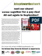 NSSN leaflet for July 10th strikes