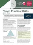 How to Teach Practical Skills