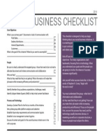 Social Business - Getting Started Checklist
