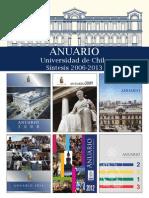 Anuario UChile 2006-2013