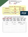 7º EM Present Continuous Extra Worksheets 1c2ba Eso