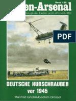 Waffen Arsenal - Band 128 - Deutsche Hubschrauber vor 1945