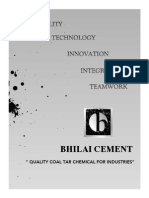 Bhilai Cement Coal Tar Chemical Naphthalene Creosote India