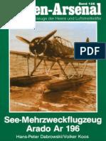 Waffen Arsenal - Band 126 - See-Mehrzweckflugzeug Arado Ar 196