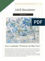 Newsletter Nº20 Junio 2014