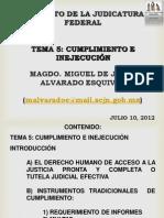 Magdo Alvarado Esquivel Cumplimiento y Ejecución de Las Sentencias de Amparo 12'