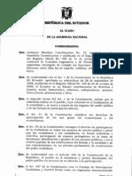 Ley Organica Del Consejo de Participacion Ciudadana y Control Social