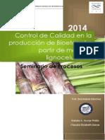 Control de Calidad en La Producción Del Bioetanol SEMINARIO de PROCESOS 2013