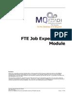 Job Expectation Module