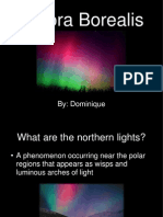 Aurora Borealis Powerpoint for Blog