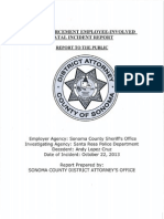 District Attorney's Report on Andy Lopez Shooting