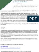152213243 Ted Nicholas Magic Words That Bring You Riches PDF