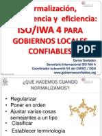 2 Normalizacion Tranparencia Eficacia ISO IWA