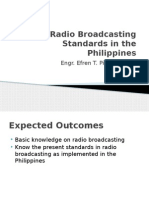 Radio Broadcast Engineering in the Philippines