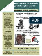 Hydraulic Spring Conversion