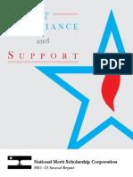 Annual Report 2012 (National Merit)