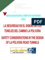 Equipamiento tuneles