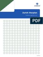 Zurich Starplan Instalments Application Form