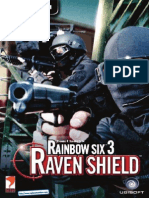Rainbow Six 3 Raven Shield - UK Manual - PC