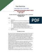 Flujos de Inversión extranjera DIrecta neta en Costa Rica