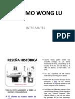 Presentación Erasmo Wong Lu