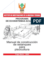 Manual de IIAP Estanques