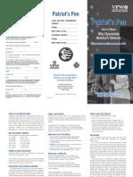 Patriots Pen 2015 Student Brochure