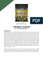Terjemah Al-hikam 1