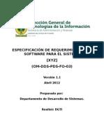 OM DDS PDS FO 03 Especificacion Requerimientos