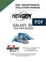 Manual de Maquina Galaxy 2R