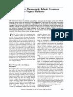macrossomia PCSTXvaginal
